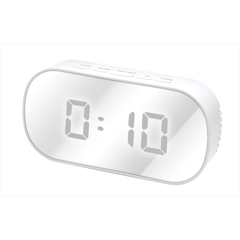 The Led mirror clock